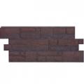 Панель фасадная  Döcke-R BURG Темный  1072*472